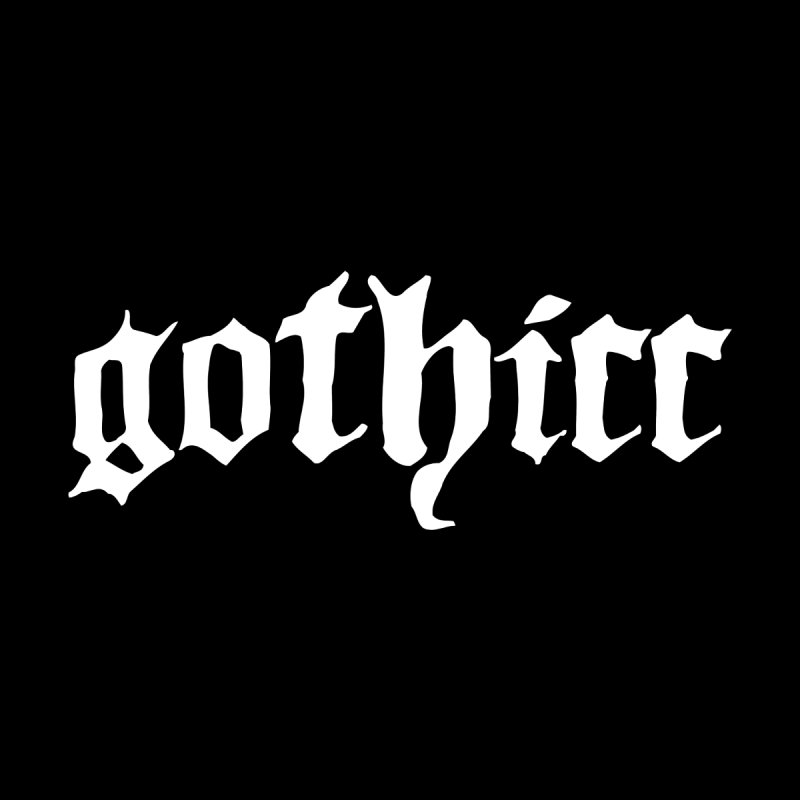 gothicc Women's Tank by Gothman Flavored Clothing