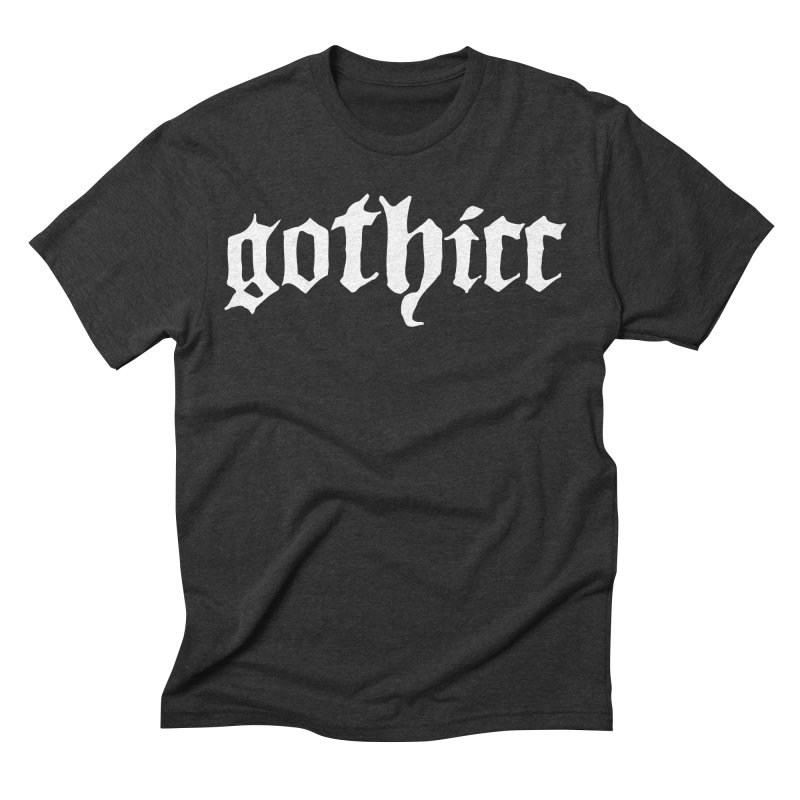 gothicc Men's Triblend T-Shirt by Gothman Flavored Clothing