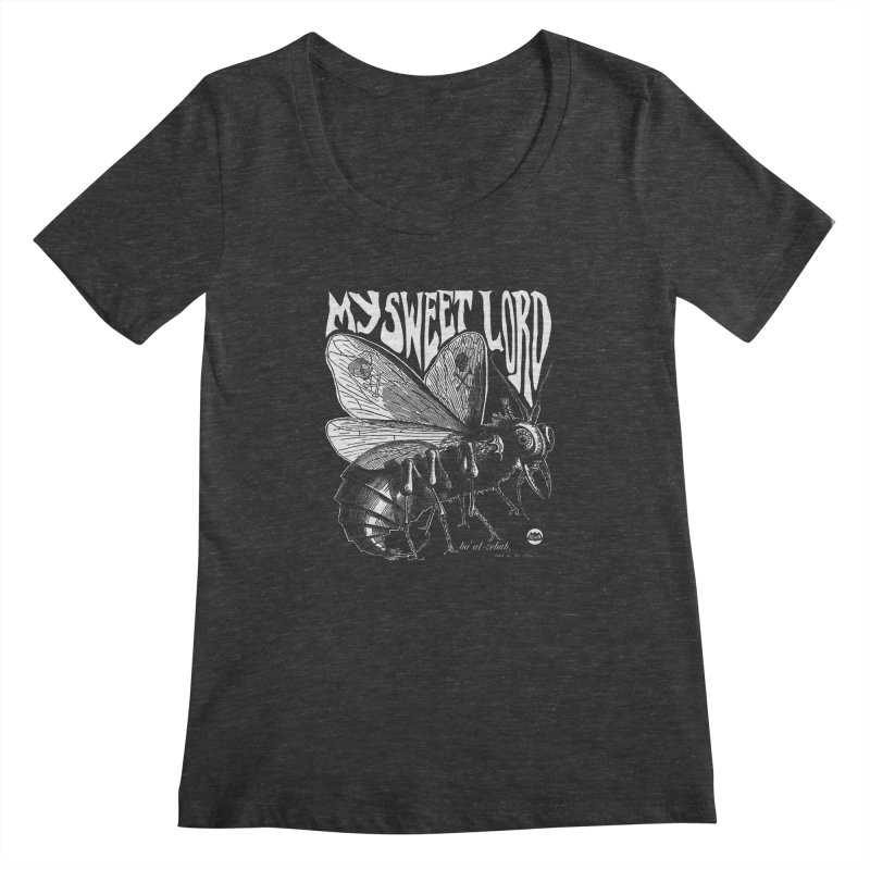 My Sweet Lord Beelzebub Women's Scoopneck by Gothman Flavored Clothing