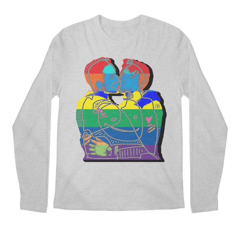 Sailor Kiss Men's Regular Longsleeve T-Shirt by Gothman Flavored Clothing