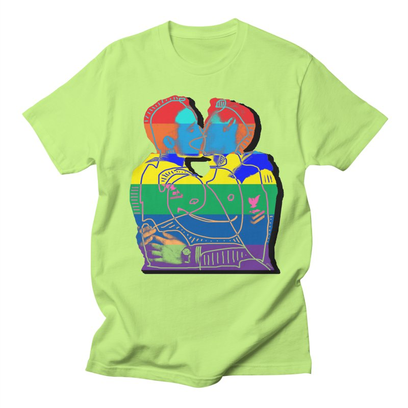 Sailor Kiss Men's Regular T-Shirt by Gothman Flavored Clothing