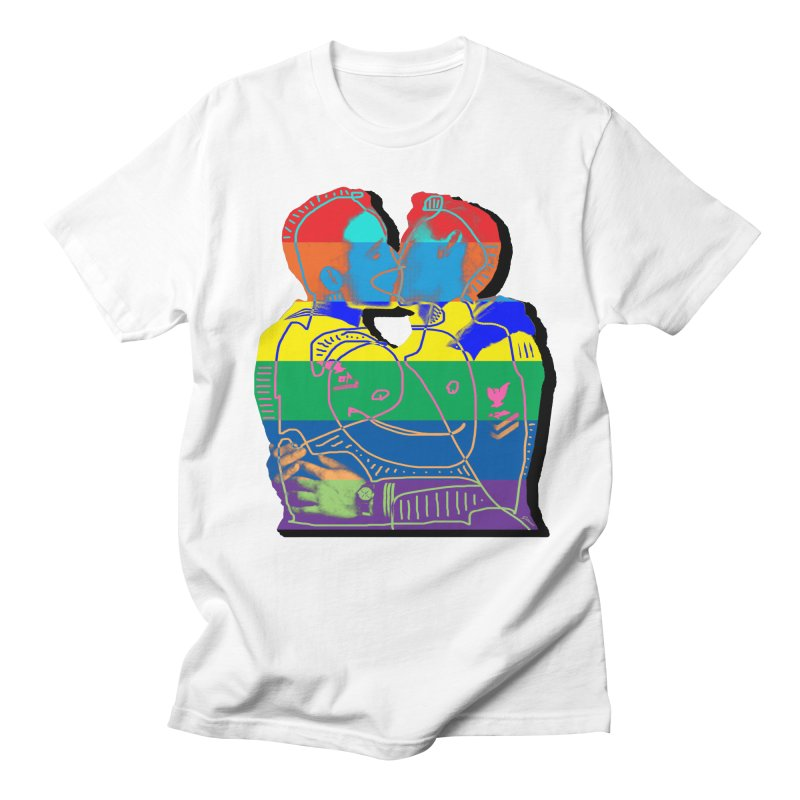 Sailor Kiss Men's T-Shirt by Gothman Flavored Clothing