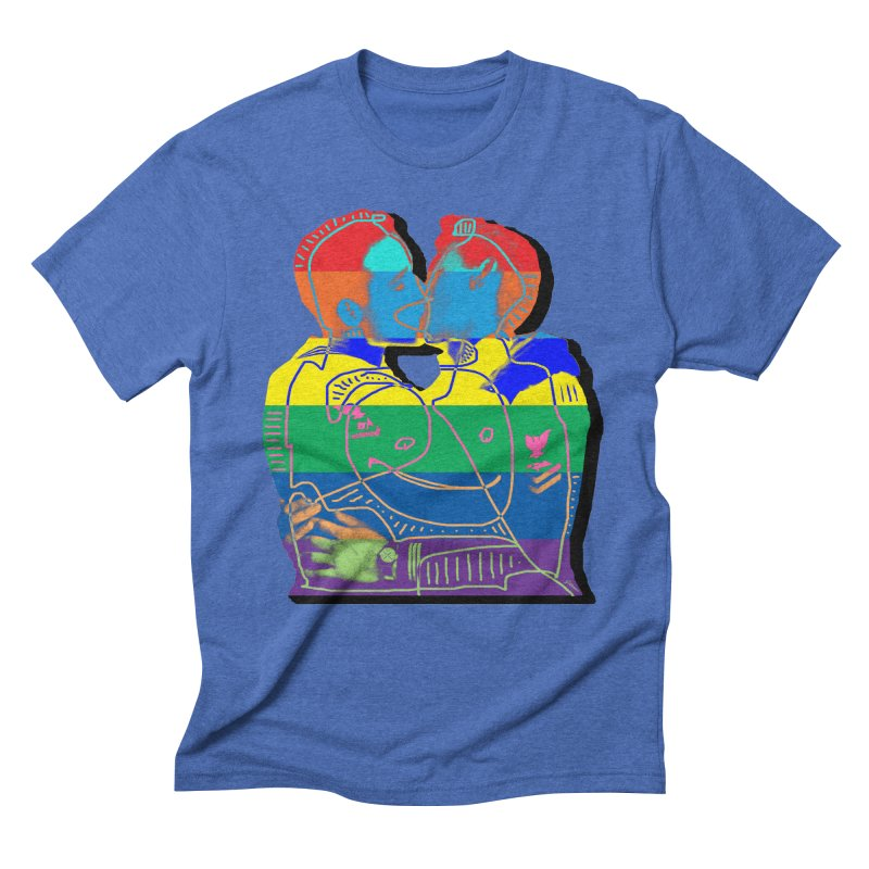 Sailor Kiss Men's Triblend T-Shirt by Gothman Flavored Clothing