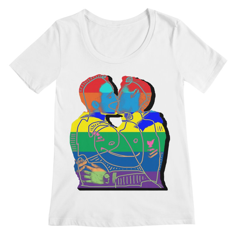 Sailor Kiss Women's Scoop Neck by Gothman Flavored Clothing
