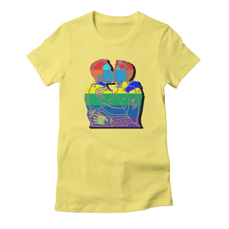 Sailor Kiss Women's T-Shirt by Gothman Flavored Clothing