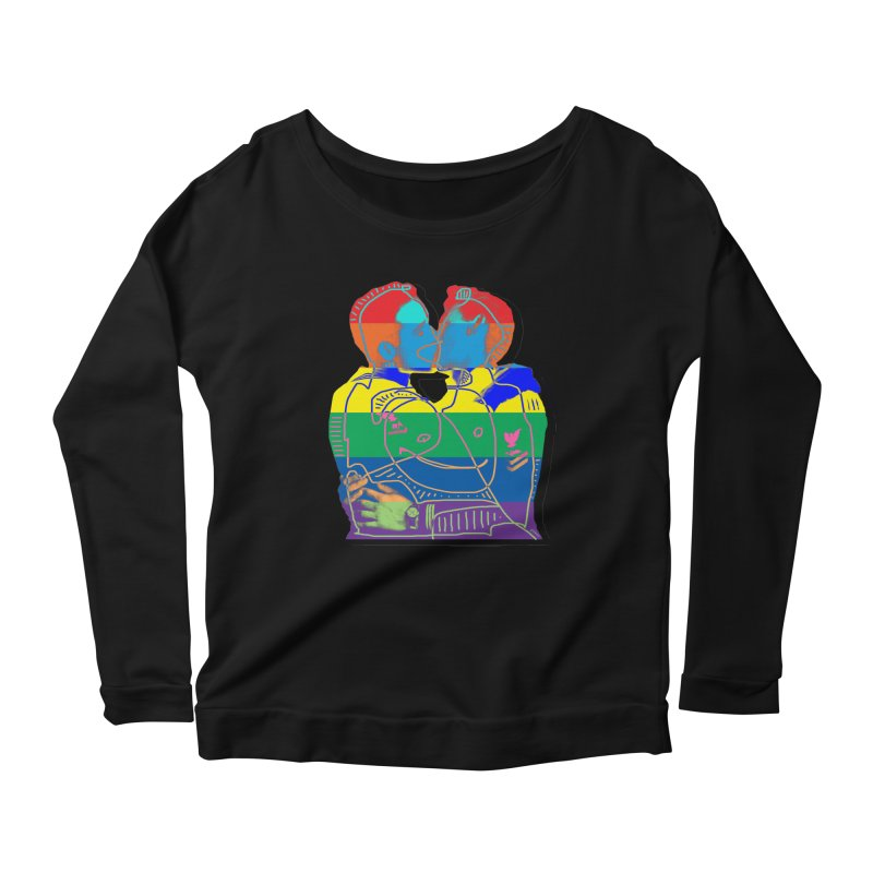 Sailor Kiss Women's Longsleeve T-Shirt by Gothman Flavored Clothing