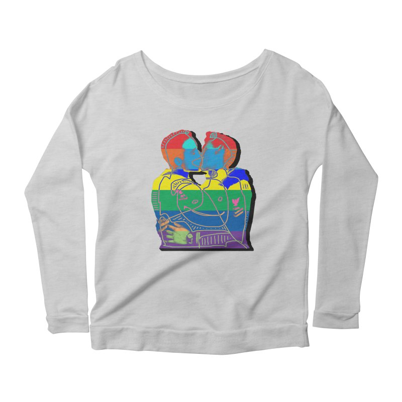 Sailor Kiss Women's Longsleeve T-Shirt by Gothman Flavored Clothing