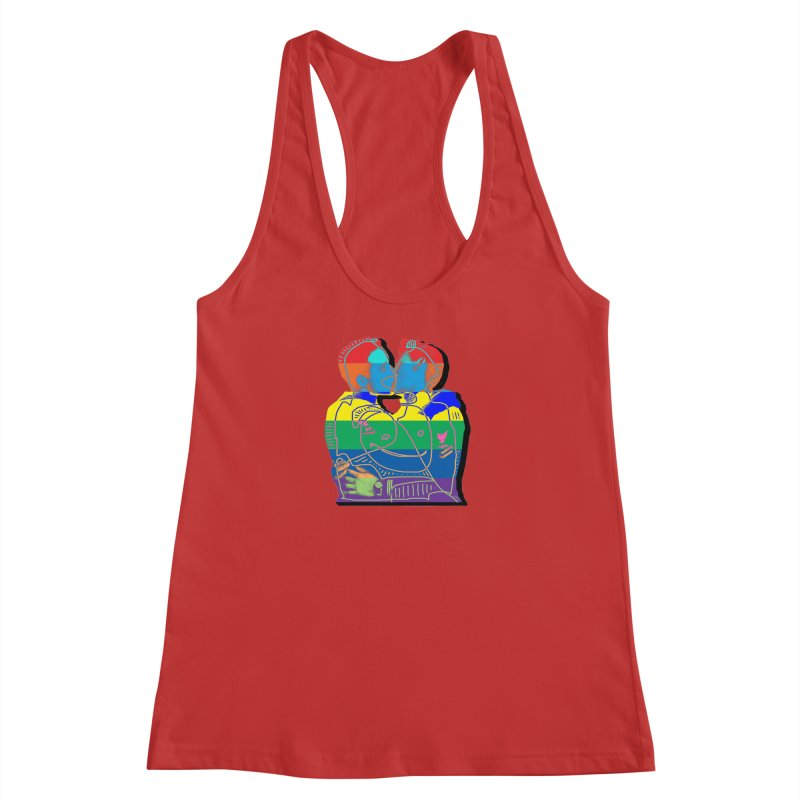 Sailor Kiss Women's Tank by Gothman Flavored Clothing