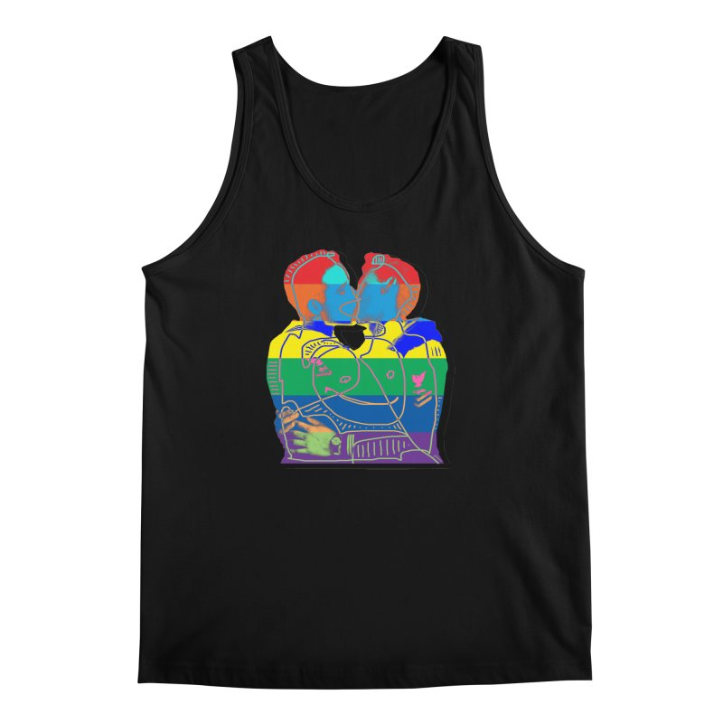 Sailor Kiss Men's Regular Tank by Gothman Flavored Clothing