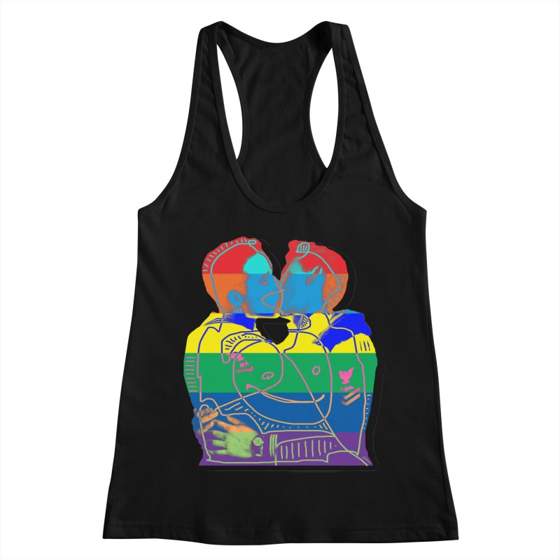Sailor Kiss Women's Racerback Tank by Gothman Flavored Clothing