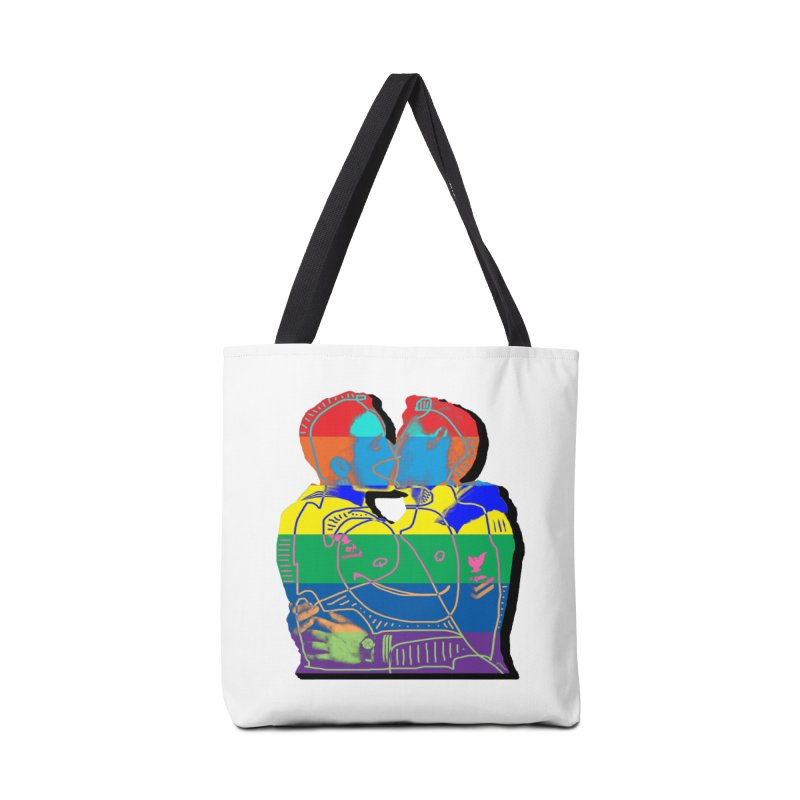 Sailor Kiss Accessories Tote Bag Bag by Gothman Flavored Clothing