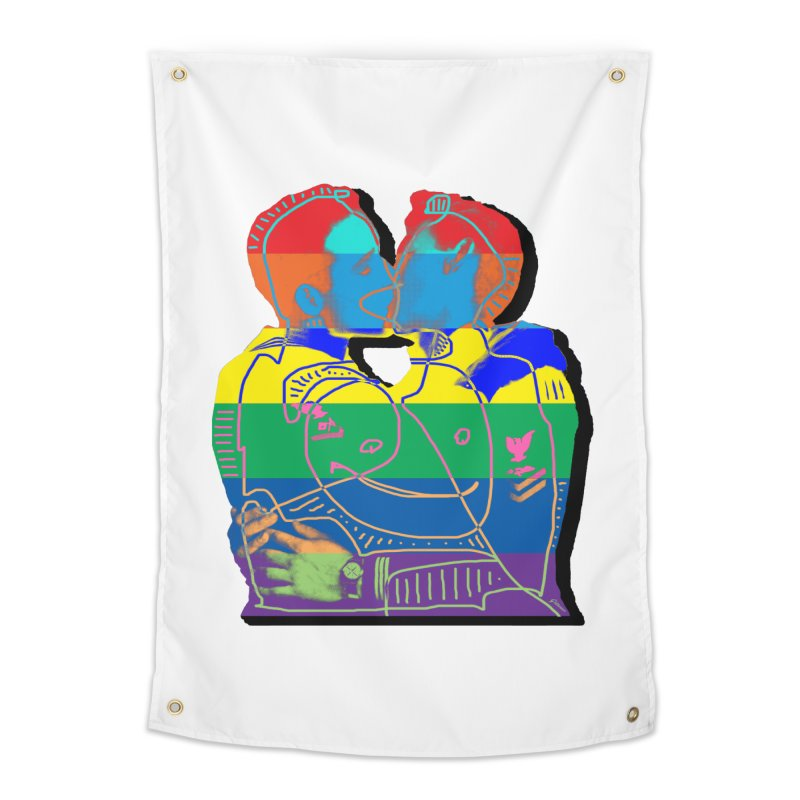 Sailor Kiss Home Tapestry by Gothman Flavored Clothing