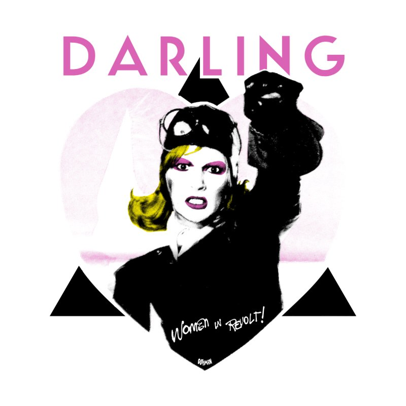 Darling in Revolt Women's V-Neck by Gothman Flavored Clothing