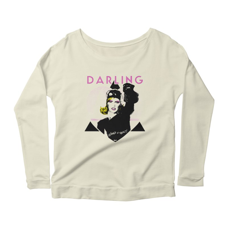Darling in Revolt Women's Scoop Neck Longsleeve T-Shirt by Gothman Flavored Clothing