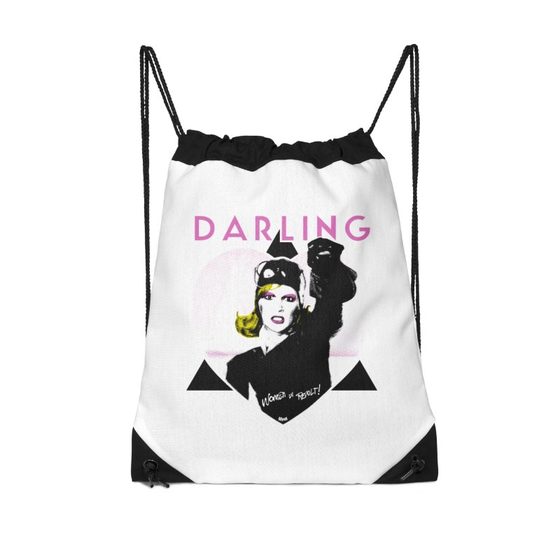 Darling in Revolt Accessories Drawstring Bag Bag by Gothman Flavored Clothing
