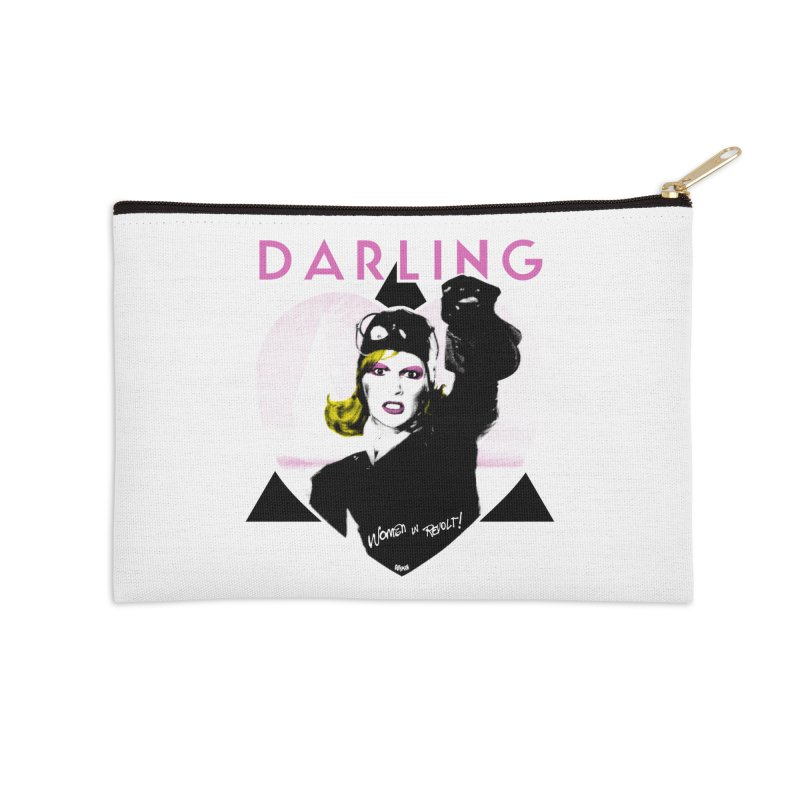 Darling in Revolt Accessories Zip Pouch by Gothman Flavored Clothing