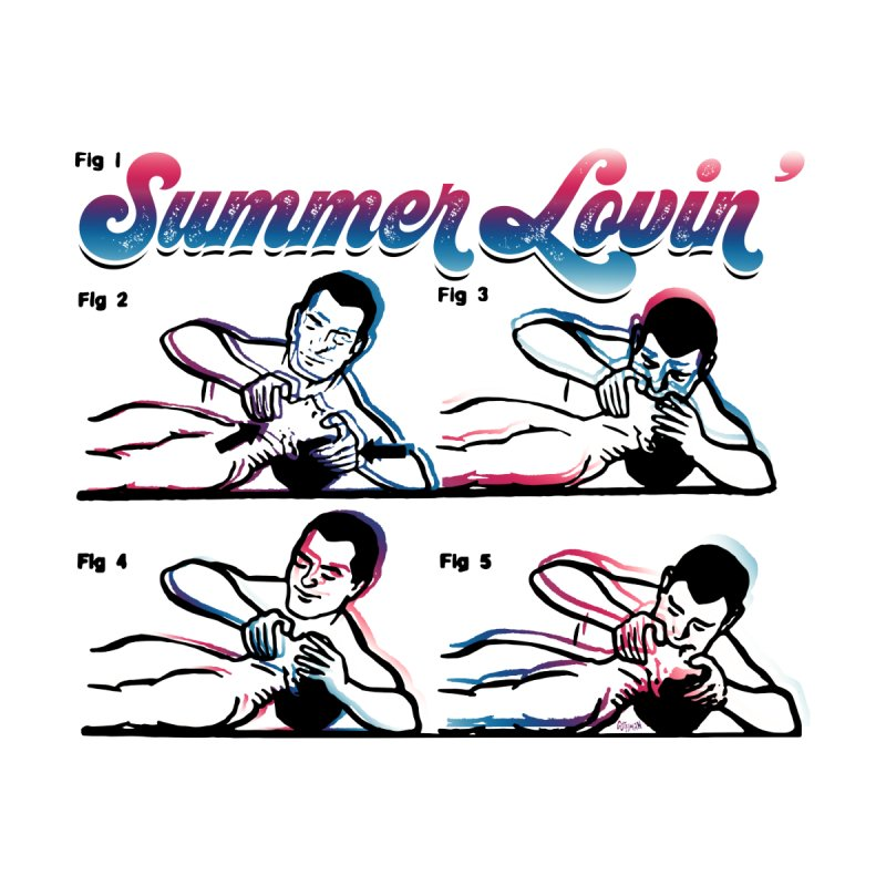 Summer Lovin' Men's T-Shirt by Gothman Flavored Clothing
