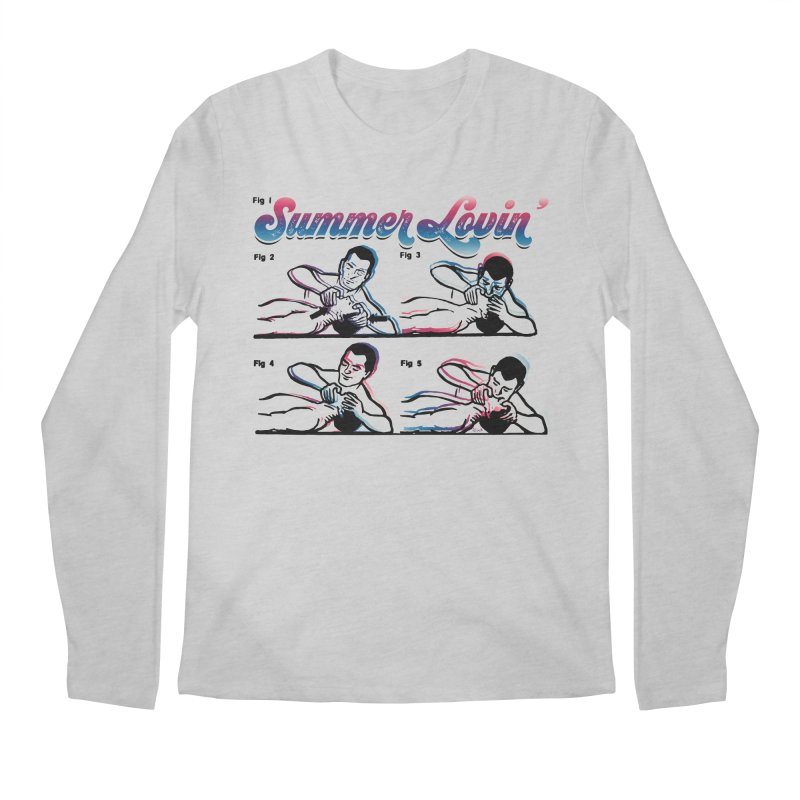 Summer Lovin' Men's Longsleeve T-Shirt by Gothman Flavored Clothing
