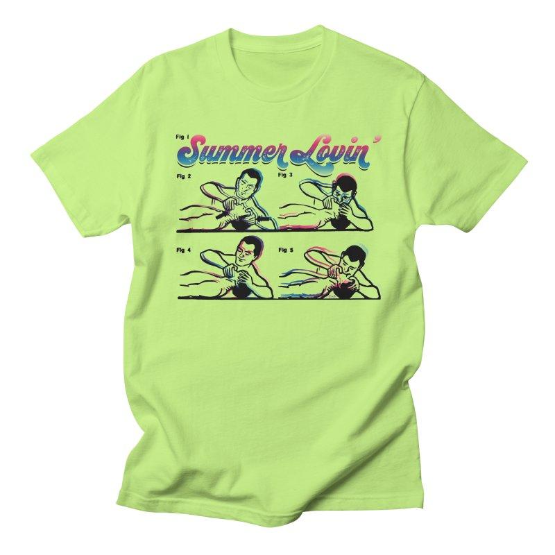 Summer Lovin' Men's T-Shirt by Gothman Flavored Clothing