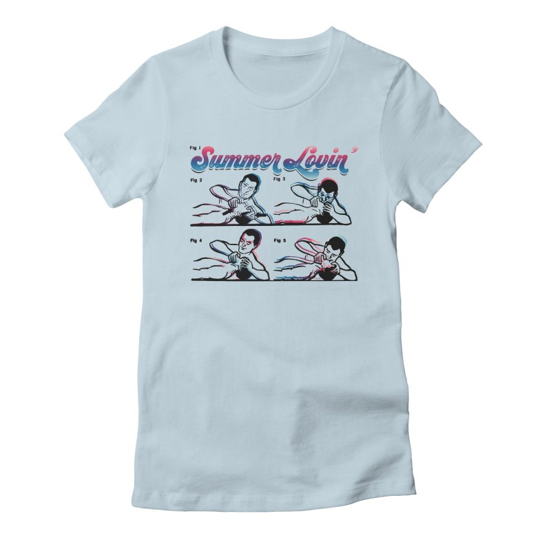 Summer Lovin' Women's T-Shirt by Gothman Flavored Clothing