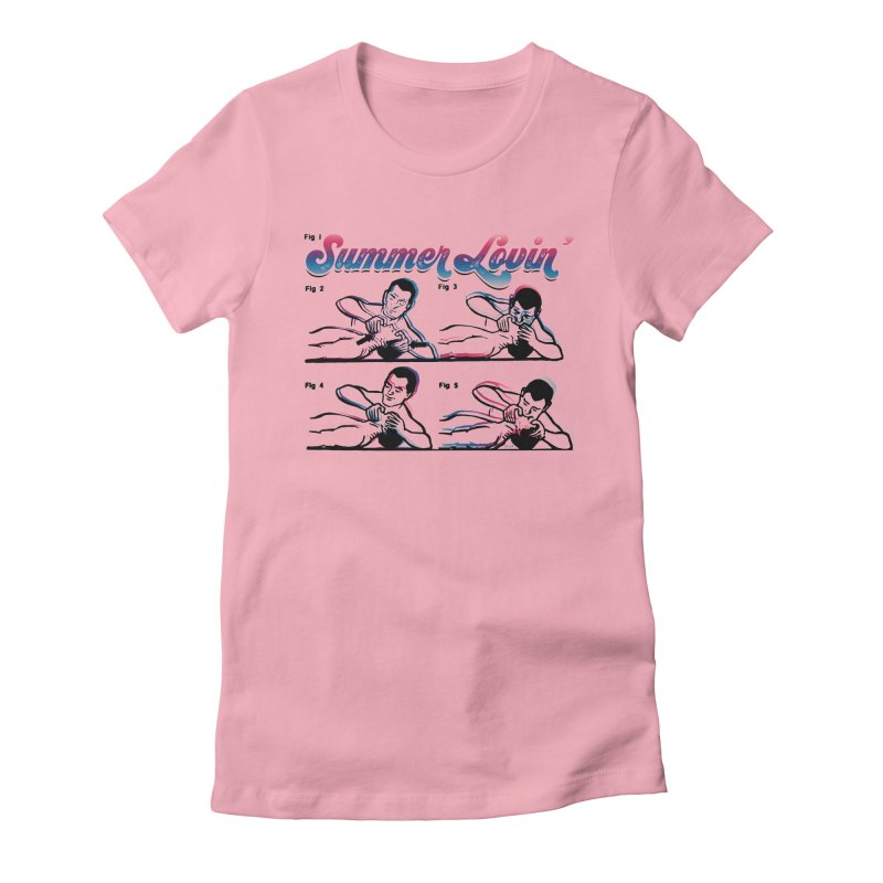 Summer Lovin' Women's T-Shirt by Gothman Flavored Clothing