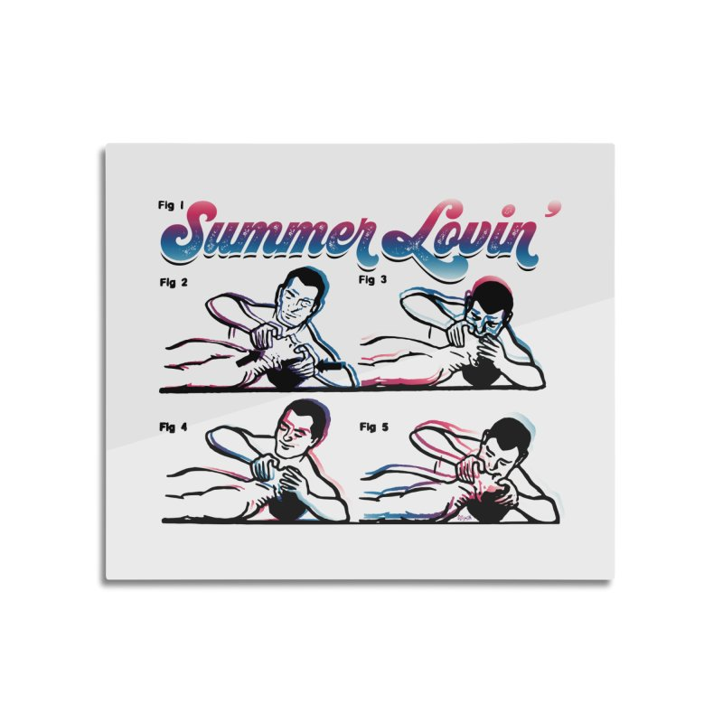 Summer Lovin' Home Mounted Acrylic Print by Gothman Flavored Clothing