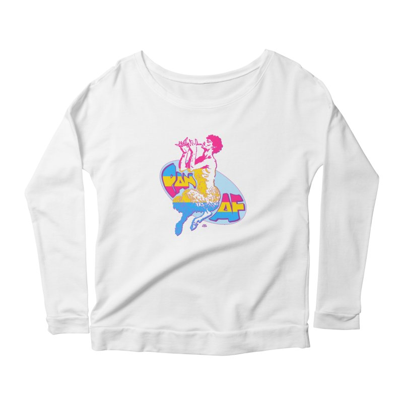 PAN AF Women's Longsleeve T-Shirt by Gothman Flavored Clothing