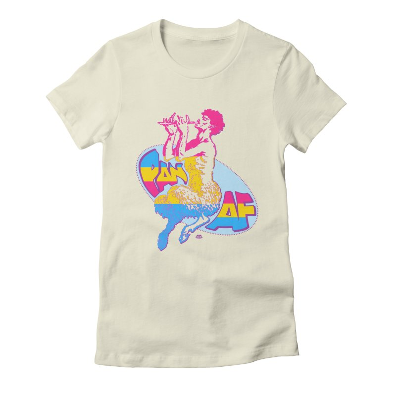 PAN AF Women's T-Shirt by Gothman Flavored Clothing