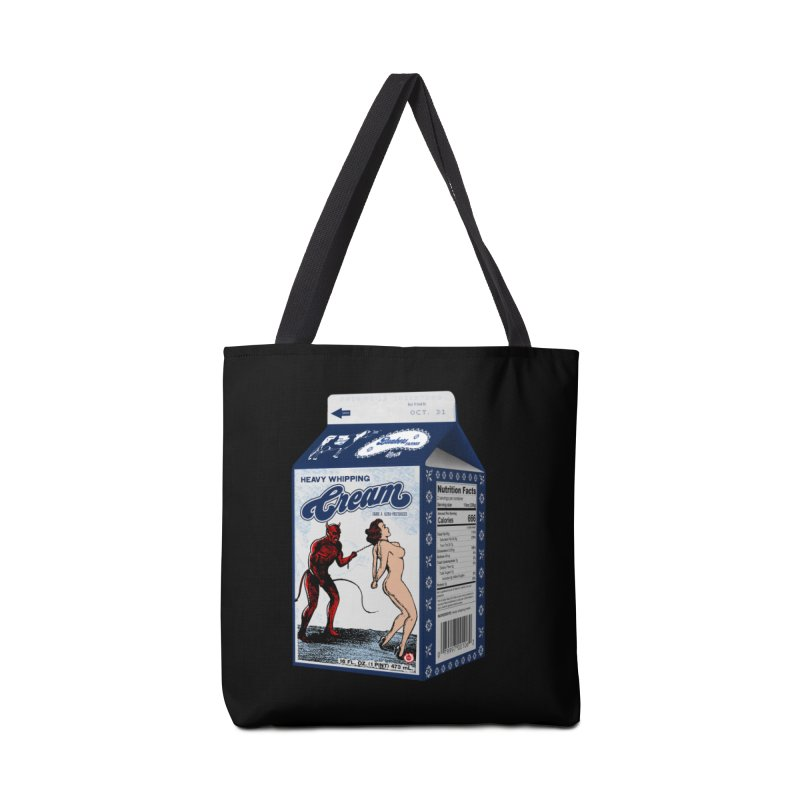 Heavy Whipping Cream Accessories Tote Bag Bag by Gothman Flavored Clothing