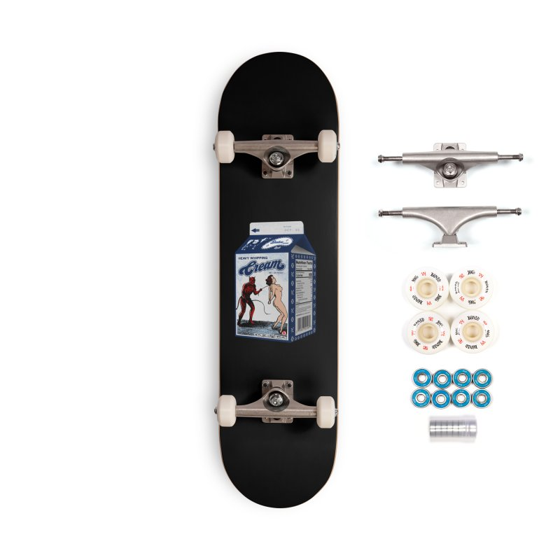 Heavy Whipping Cream Accessories Complete - Premium Skateboard by Gothman Flavored Clothing