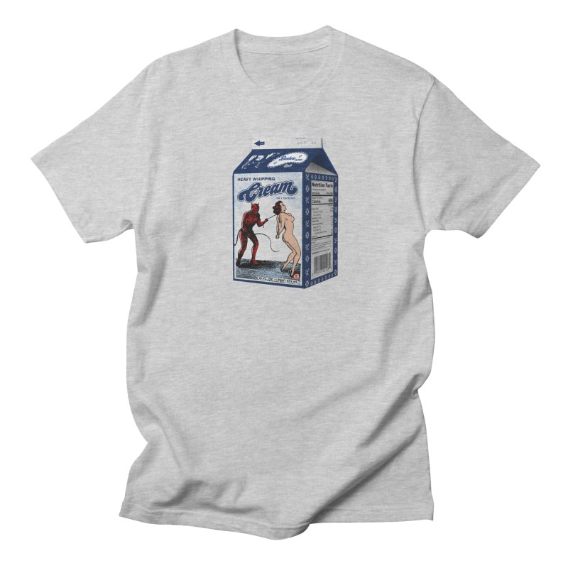 Heavy Whipping Cream Men's T-Shirt by Gothman Flavored Clothing