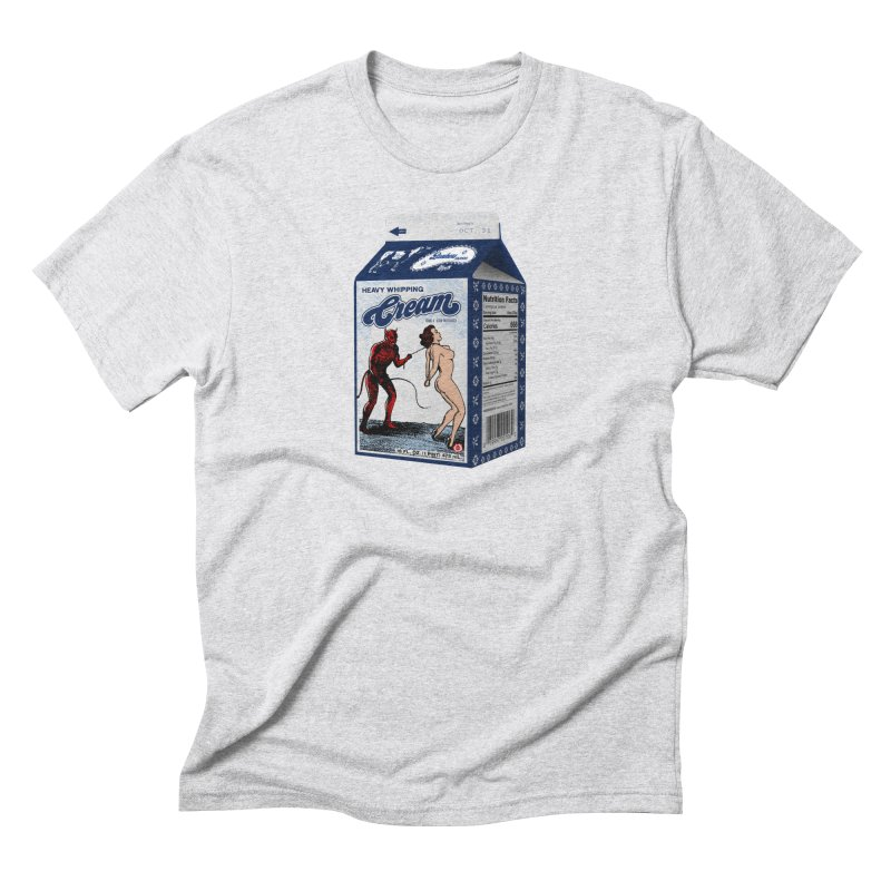 Heavy Whipping Cream Men's Triblend T-Shirt by Gothman Flavored Clothing