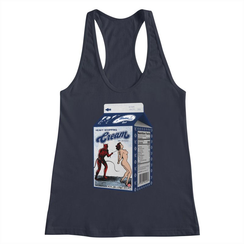 Heavy Whipping Cream Women's Racerback Tank by Gothman Flavored Clothing