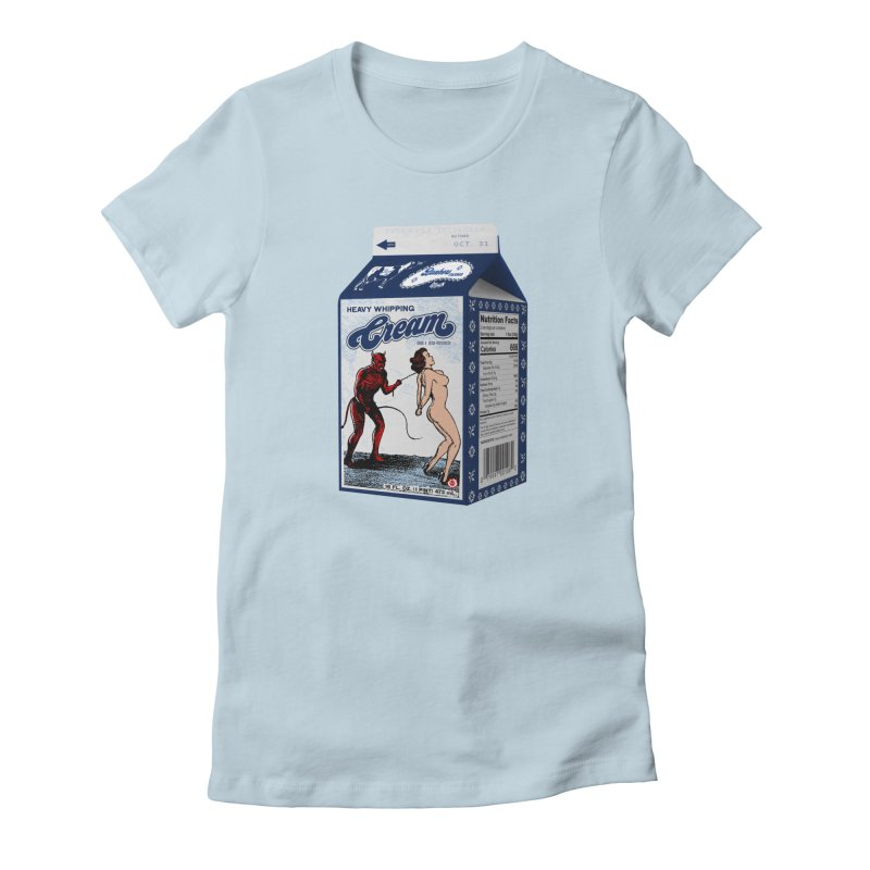 Heavy Whipping Cream Women's T-Shirt by Gothman Flavored Clothing