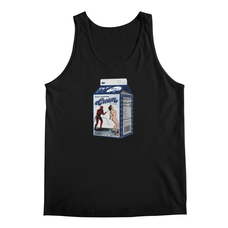 Heavy Whipping Cream Men's Tank by Gothman Flavored Clothing