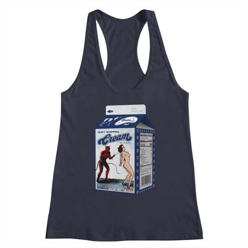 Heavy Whipping Cream Women's Tank by Gothman Flavored Clothing