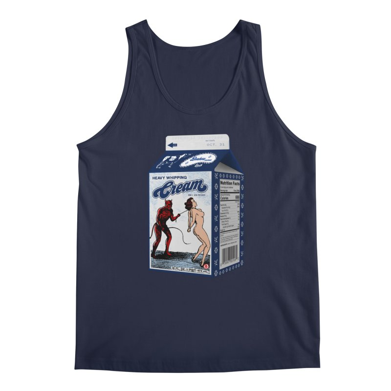 Heavy Whipping Cream Men's Regular Tank by Gothman Flavored Clothing