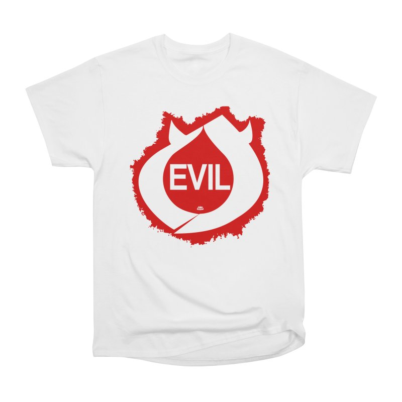 Real Evil Men's T-Shirt by Gothman Flavored Clothing