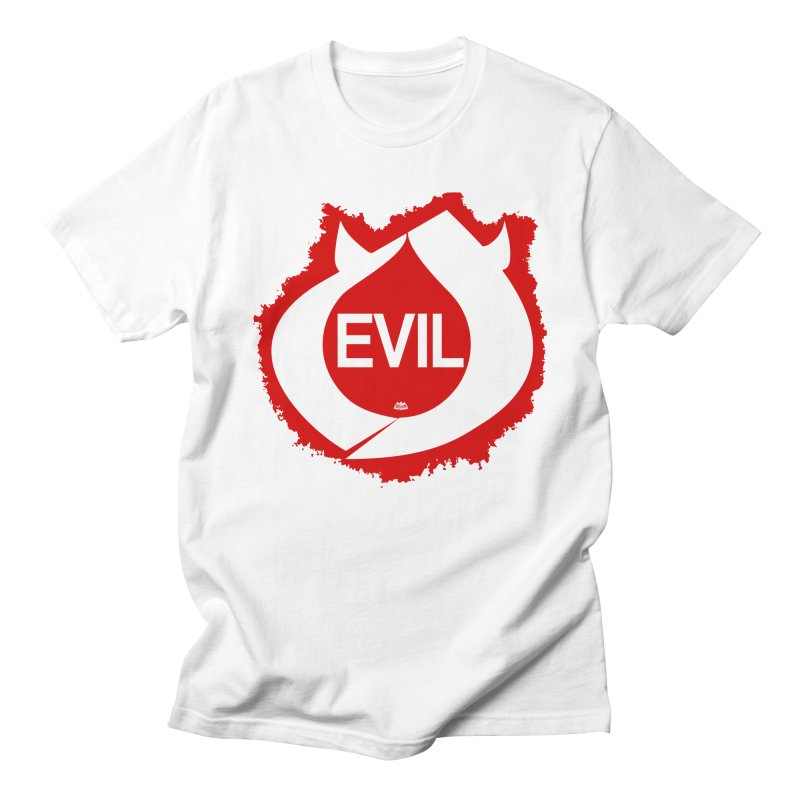 Real Evil Men's Regular T-Shirt by Gothman Flavored Clothing