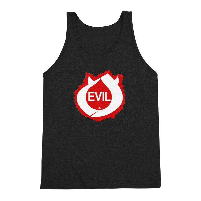 Real Evil Men's Tank by Gothman Flavored Clothing