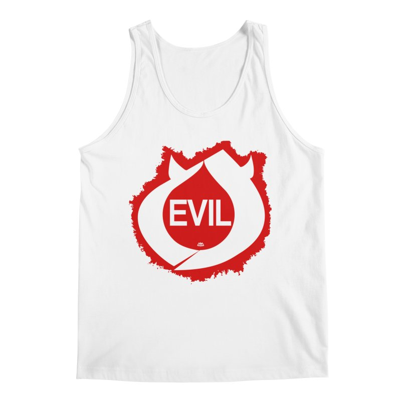 Real Evil Men's Regular Tank by Gothman Flavored Clothing