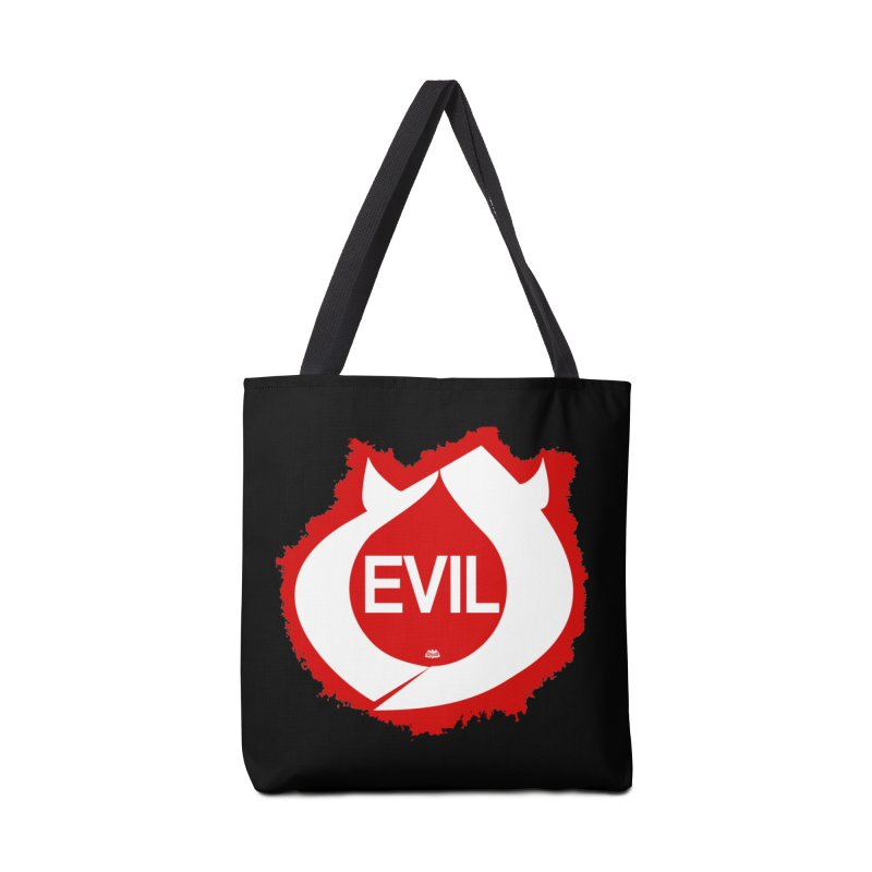 Real Evil Accessories Tote Bag Bag by Gothman Flavored Clothing