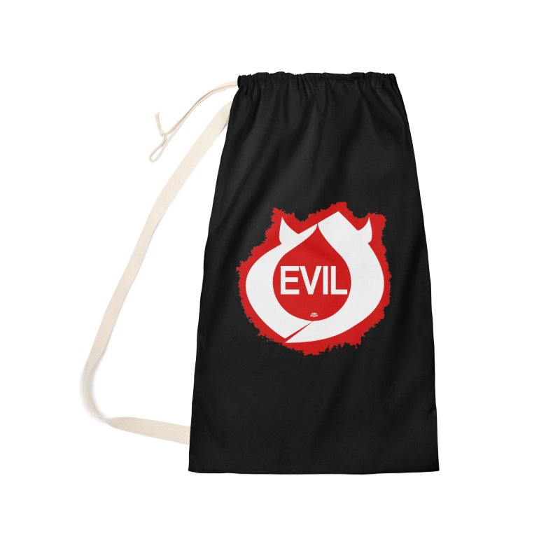 Real Evil Accessories Laundry Bag Bag by Gothman Flavored Clothing