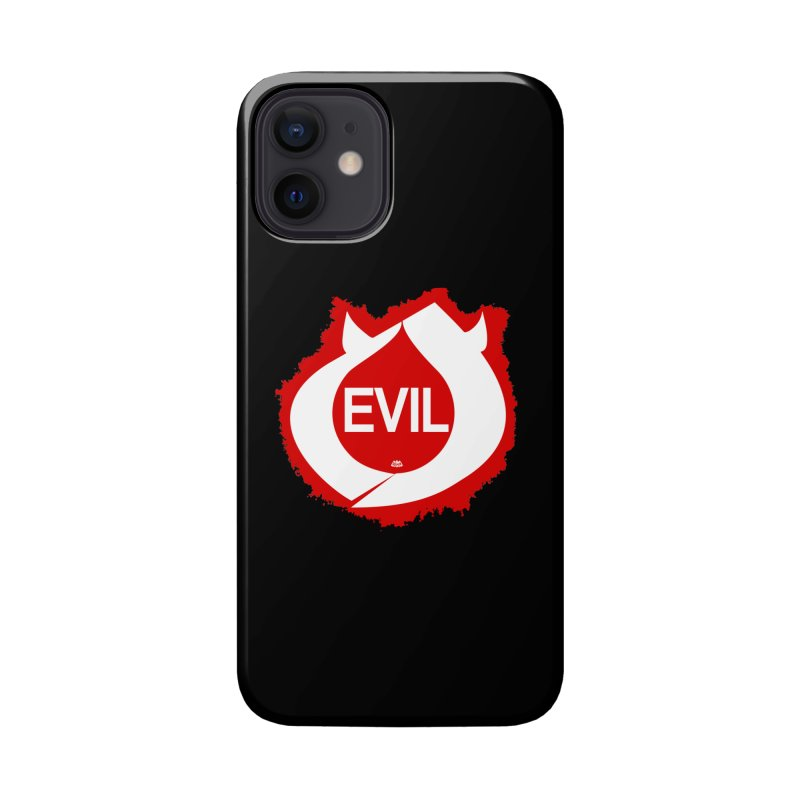 Real Evil Accessories Phone Case by Gothman Flavored Clothing