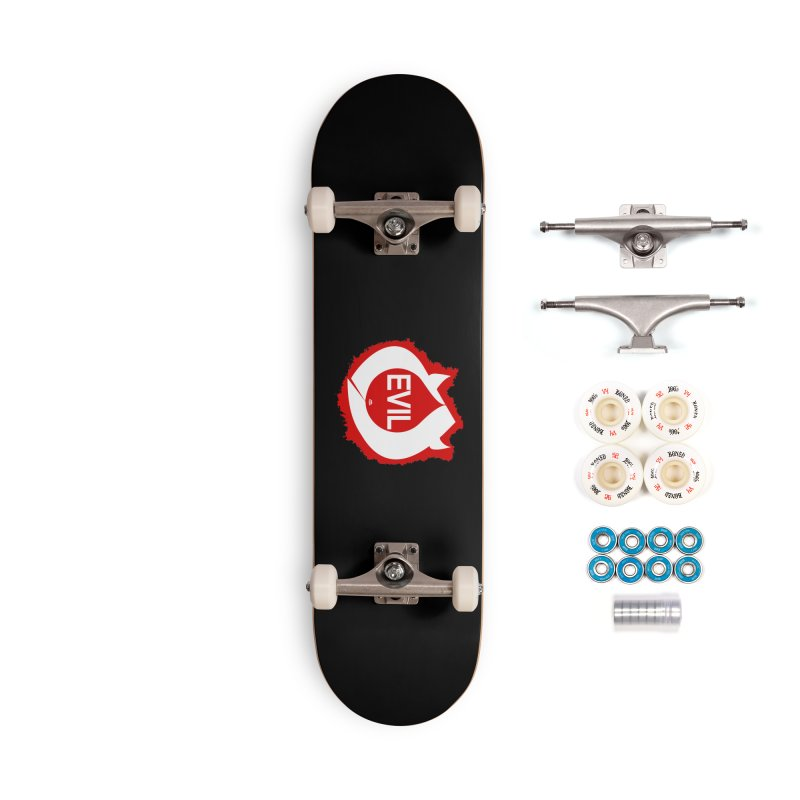 Real Evil Accessories Complete - Premium Skateboard by Gothman Flavored Clothing