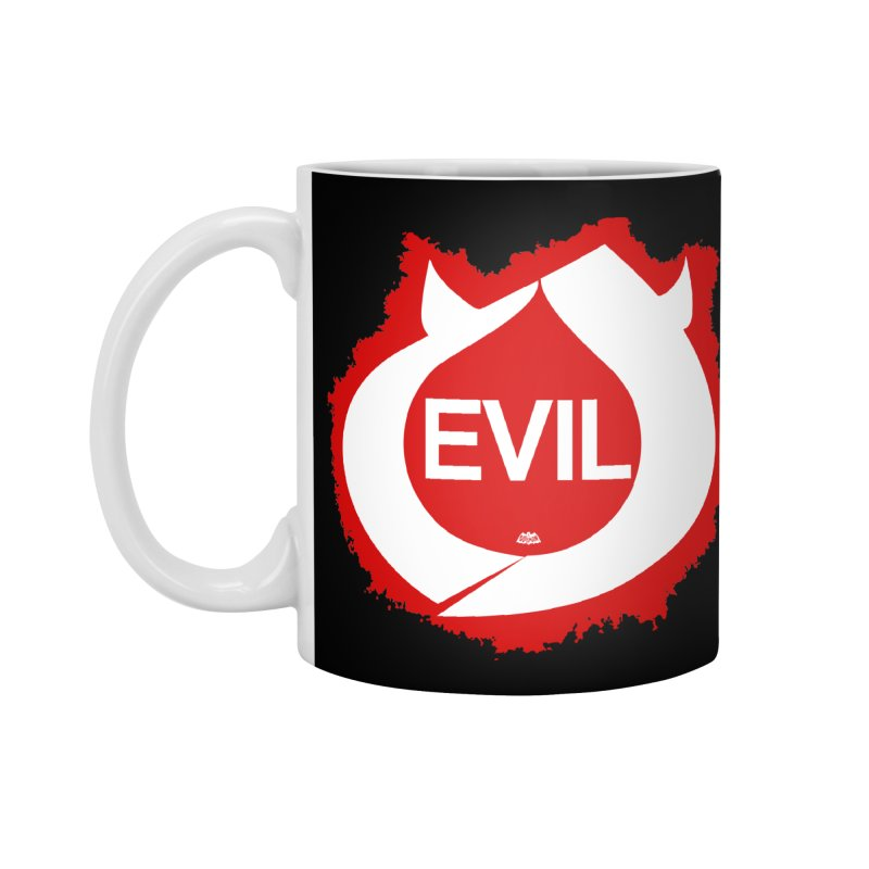 Real Evil Accessories Standard Mug by Gothman Flavored Clothing