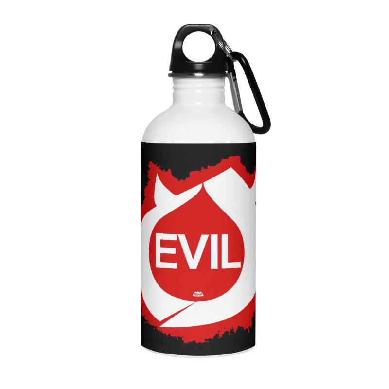 Real Evil Accessories Water Bottle by Gothman Flavored Clothing