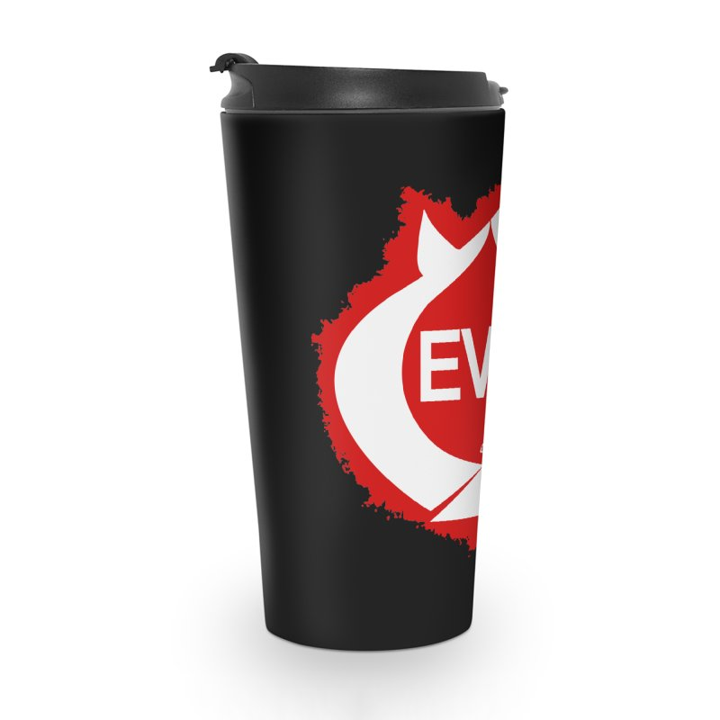 Real Evil Accessories Travel Mug by Gothman Flavored Clothing