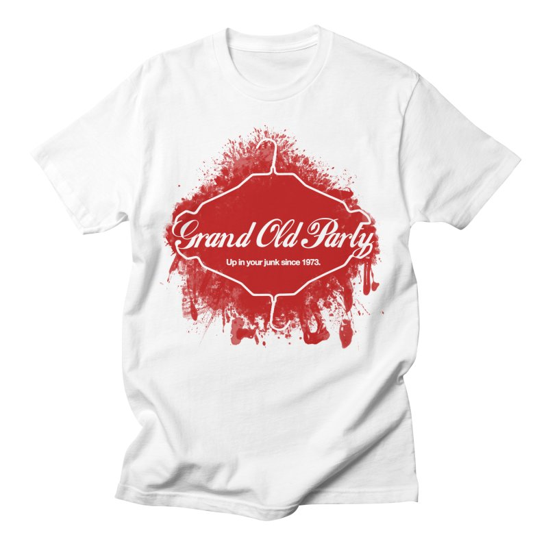 Grand Ol' Party - No Wire Hangers Men's T-Shirt by Gothman Flavored Clothing
