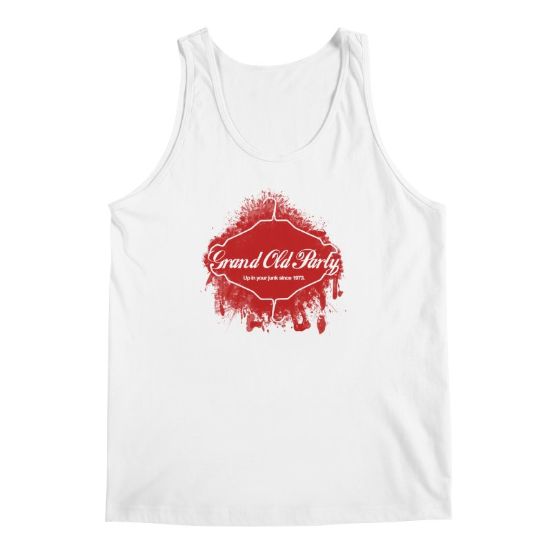 Grand Ol' Party - No Wire Hangers Men's Regular Tank by Gothman Flavored Clothing